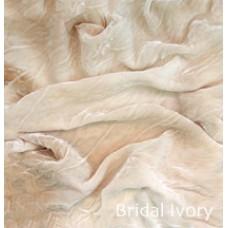 БАРХАТ ИЗ НАТУРАЛЬНОГО ШЕЛКА Bridal-Ivory