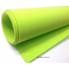 Фоамиран (цвет желто-зеленый)